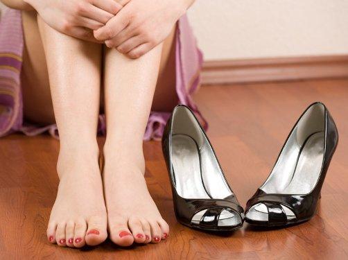 Какими методами можно устранить усталость ног