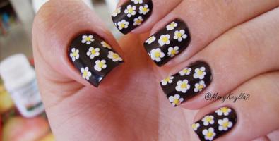 Нейл-арт ногтей или рисунки на ногтях для начинающих…