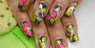 Уроки гелевого наращивания ногтей