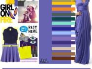Сочетание цветов: фиолетовый