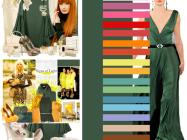 Сочетание цветов: зеленый