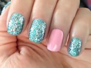 Украшение ногтей в домашних условиях стразами и блестками
