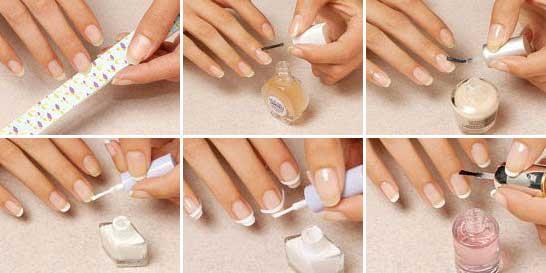 Как сделать полоски на ногтях дома 76
