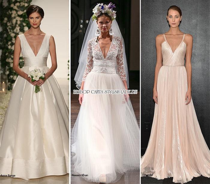Свадебное платье комбинация