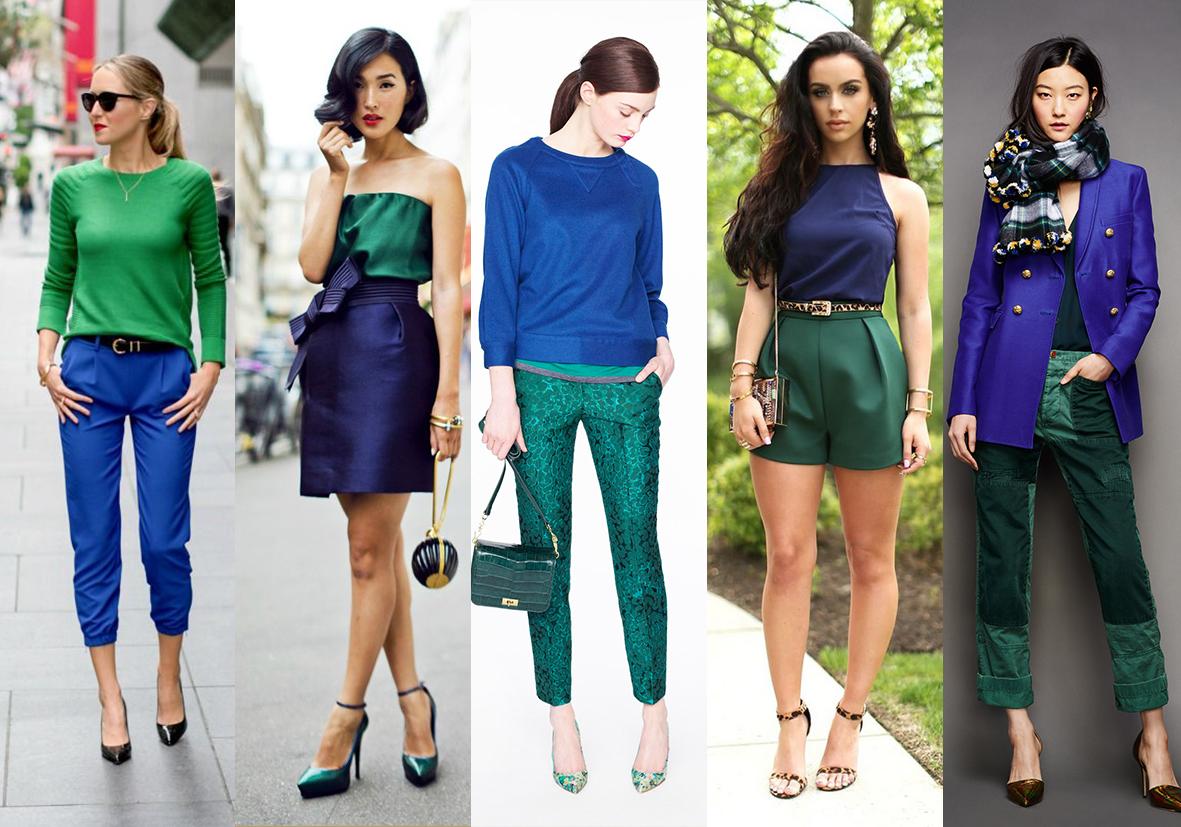 Благородные цвета в одежде