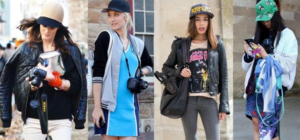 Что одевать с кепкой
