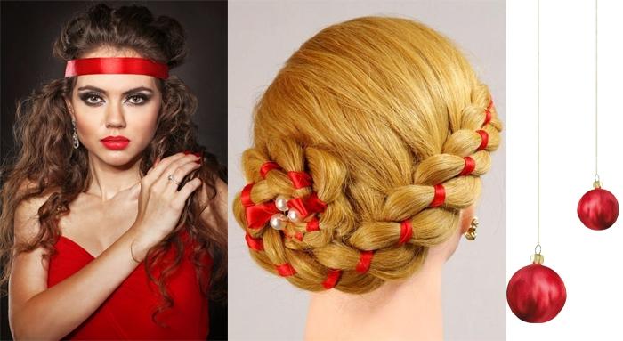 модные прически на длинные волосы на новый год