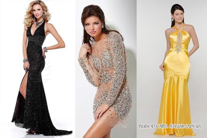 Модные платья на встречу нового года