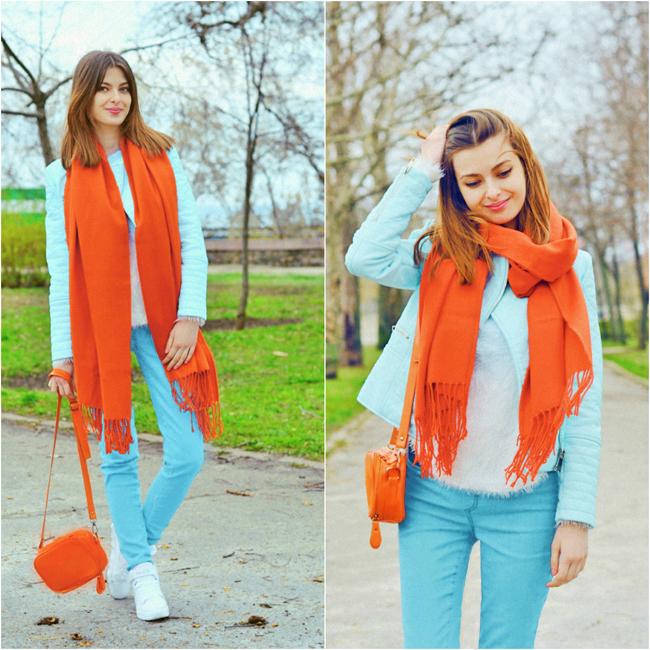 oranjevii-sharf
