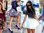 Модная юбка солнце — с чем её носить?