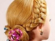 Модные косы из роскошных длинных волос