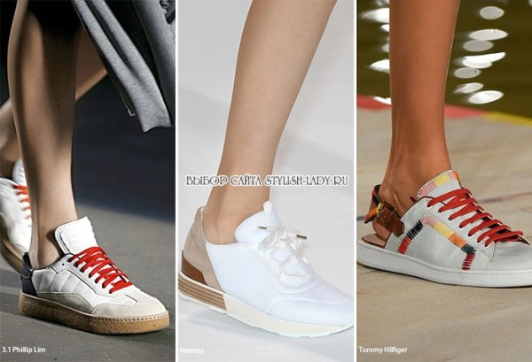 модные кроссовки весна - лето 2016, фото