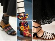 Модные тенденции весны 2016 — сапоги и туфли