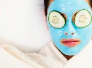 Голубая глина и маски для лица