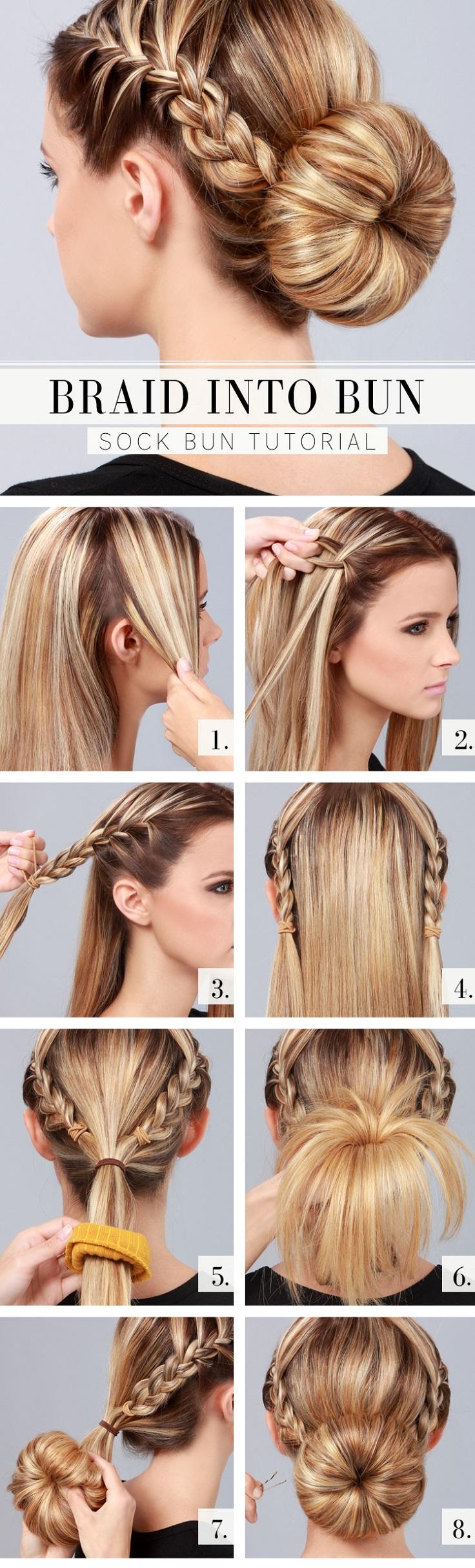 Прически с косами на длинные