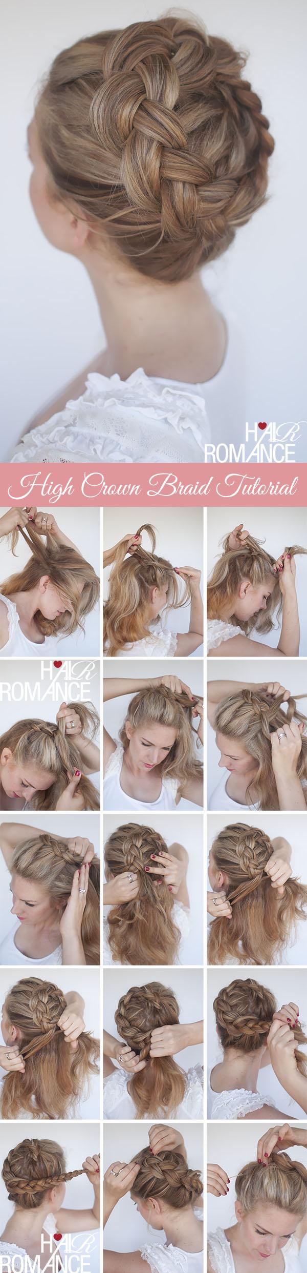 прическа с косами, фото