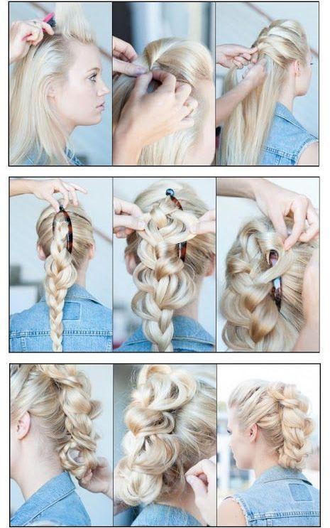 косы для овального лица, фото