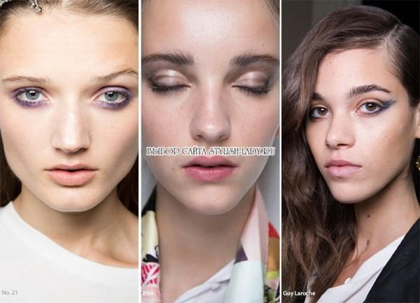 модный повседневный макияж 2016, фото