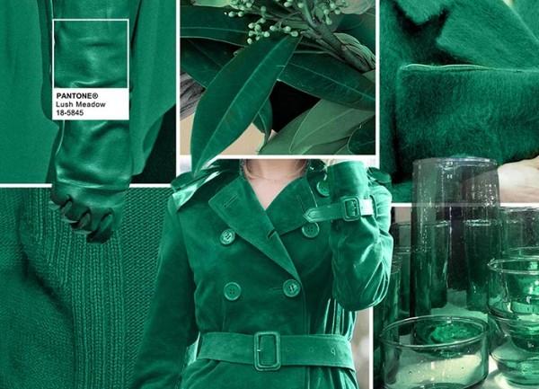 модный зеленый цвет осени 2016, фото