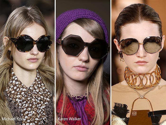 d15b0919f304 Двойные очки от Prada относятся к ретро-классике художественного образца. В  коллекции Gucci представлены простые очки в цветной оправе, которые  способны ...