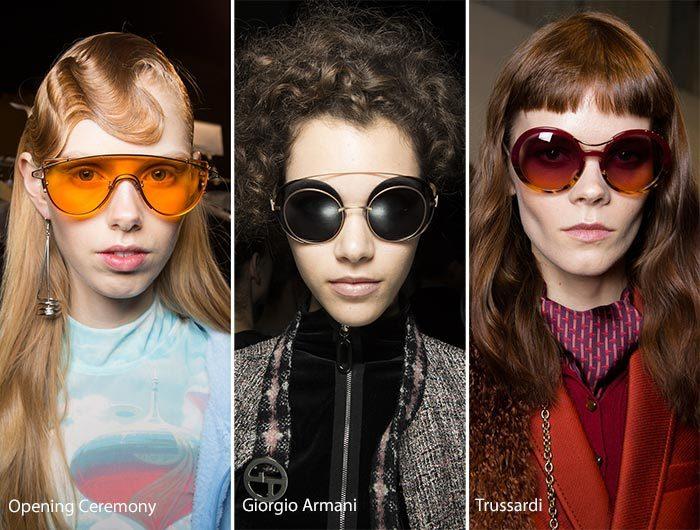 модные очки с двойной оправой осень - зима 2016-2017, фото