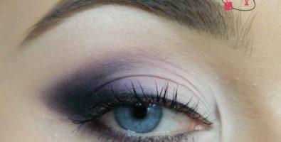 Как сделать красивый макияж глаз в фиолетовых тонах — подробный урок с фото
