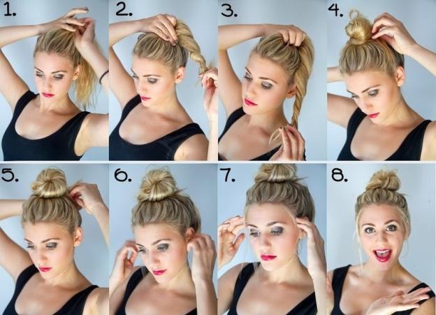 Как сделать красивую и модную гульку
