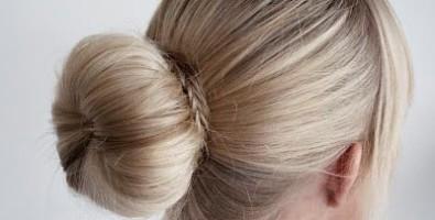 Как сделать пучок на средние и длинные волосы?