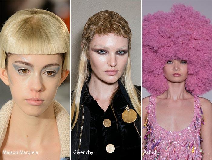 Модные накладные волосы осень - зима 2016 - 2017, фото