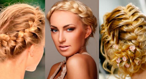 коса в греческом стиле, фото