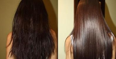 Модная каутеризация волос: с фото до и после