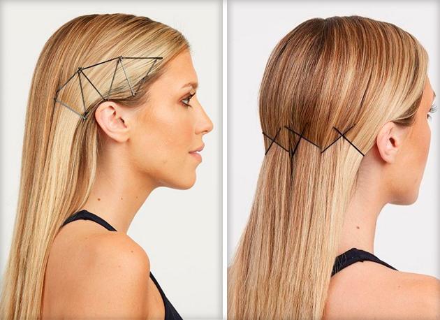 Простые прически для средних прямых волос
