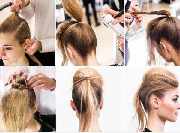 прическа на редкие длинные волосы фото