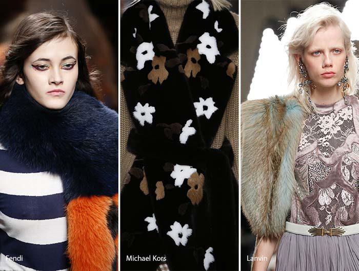 Модные шарфы осень - зима 2016 - 2017, фото