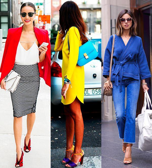 Платья какого цвета подходят шатенкам с