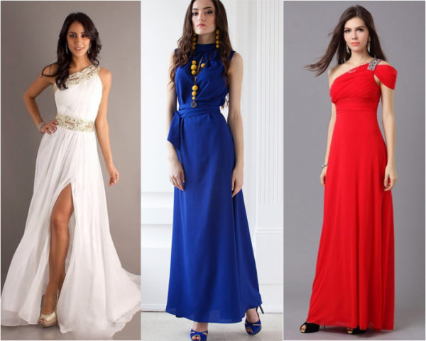 Какого цвета платье подойдет брюнетке