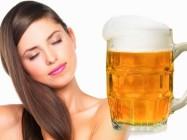 Использование пива в косметических целях. Пиво для волос