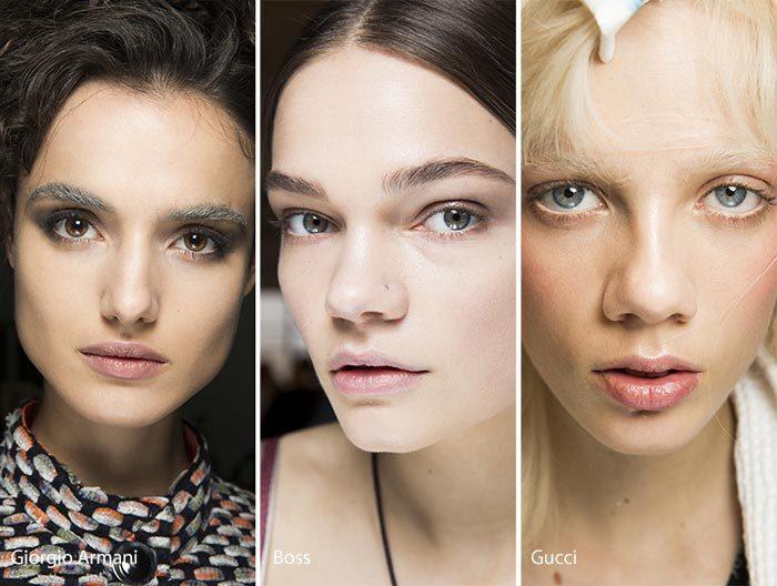 модный макияж осень - зима 2016 - 2017, фото