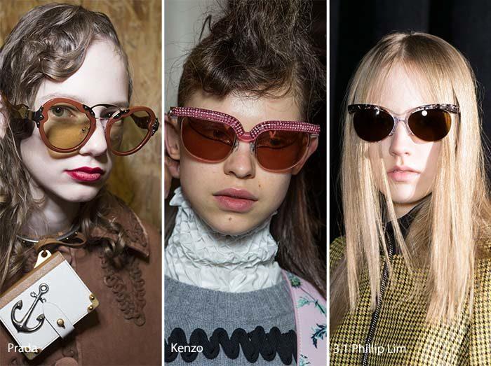 модные очки - стрекозы осень - зима 2016-2017, фото