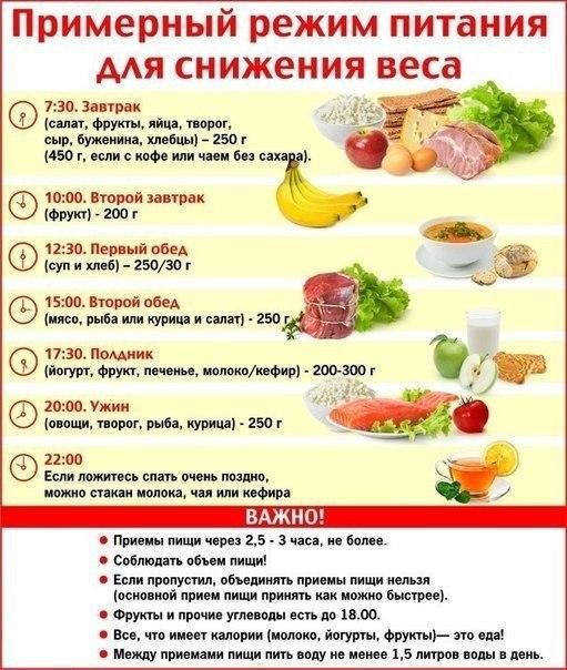 Правильное питание - основа быстрого похудения без вреда для здоровья!