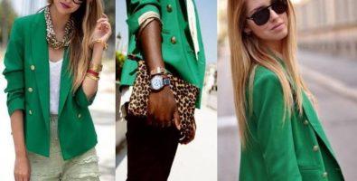 Надень зеленое – верни себе улыбку! С чем носить зеленый пиджак, блузку, кофту, свитер?
