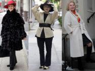 Модная одежда для пожилых женщин