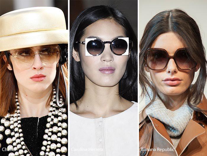 модные очки с линзами омбре осень - зима 2016-2017, фото