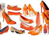 Оранжевая обувь наполнит светом солнечным сердца! С чем её носить?