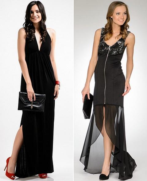 С черным платьем какого цвета туфли