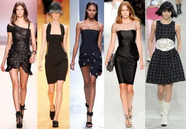 Какие колготки с кружевным черным платьем