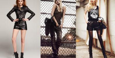 Одежда в стиле рок ( глэм, готика, рок-н-ролл, нео-фолк, панк)