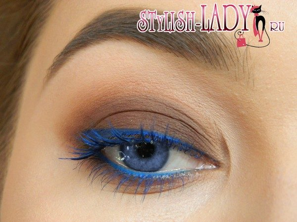 стрелки для голубых глаз, фото