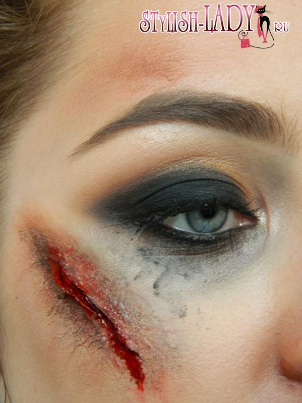 Как сделать искусственную рану, фото