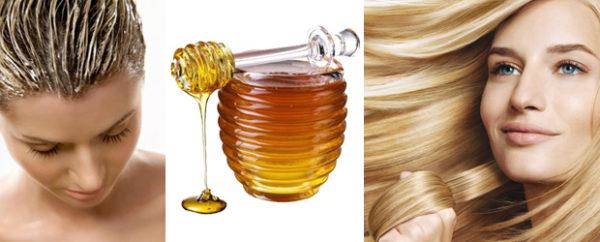 Маска на основе меда для волос